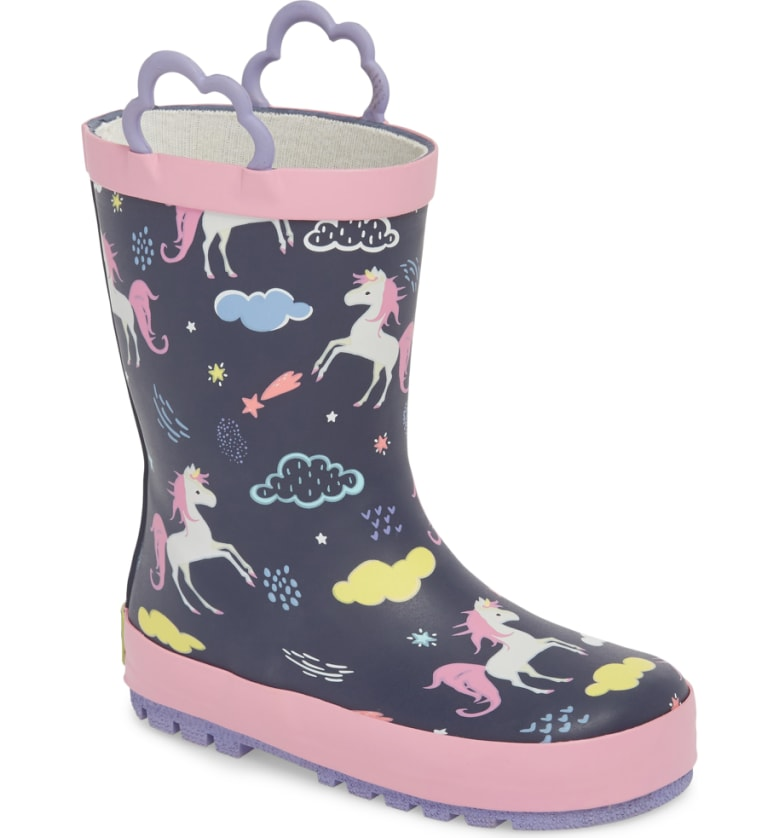 Little Giraffe Unicorn Rain Boot