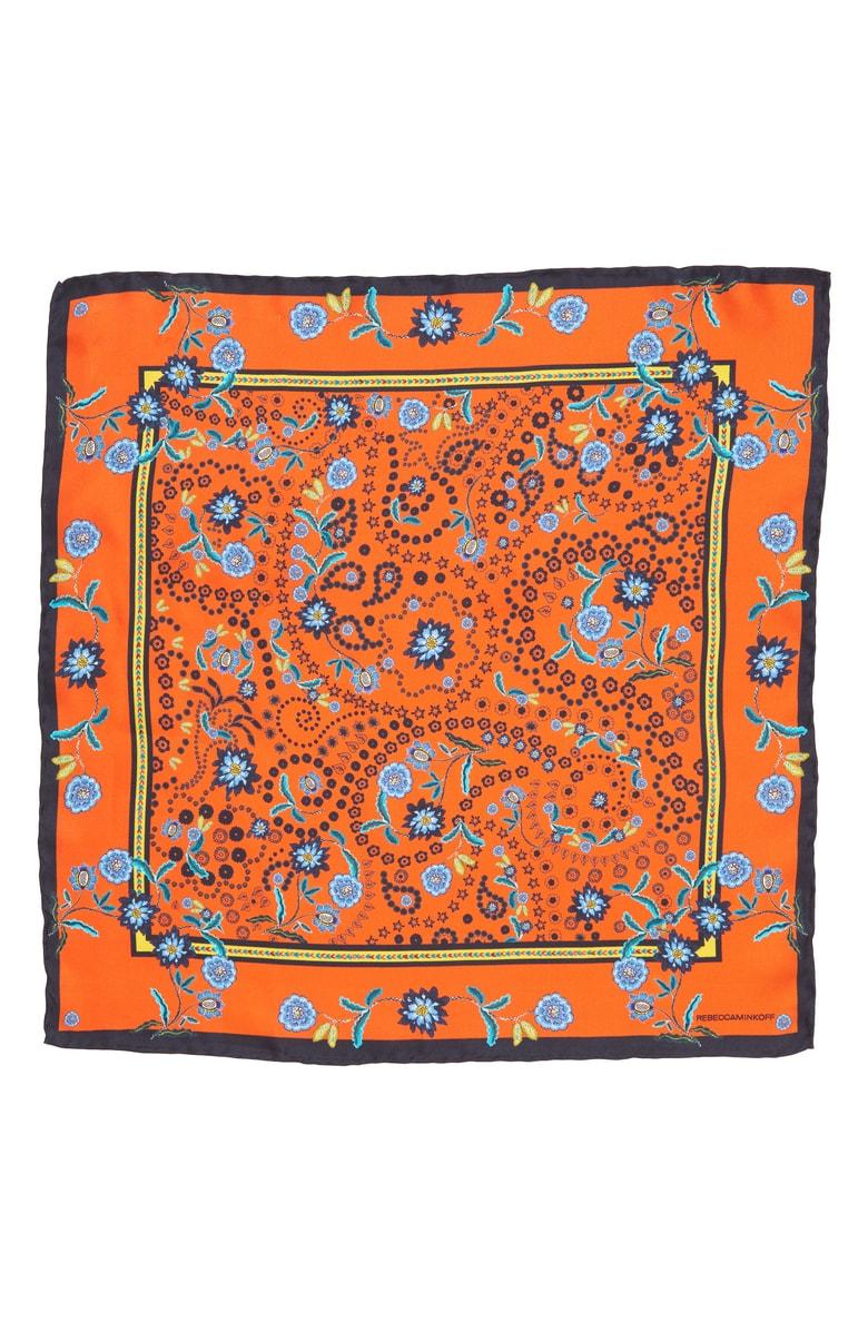 Rebecca Minkoff Silk Scarf, $38
