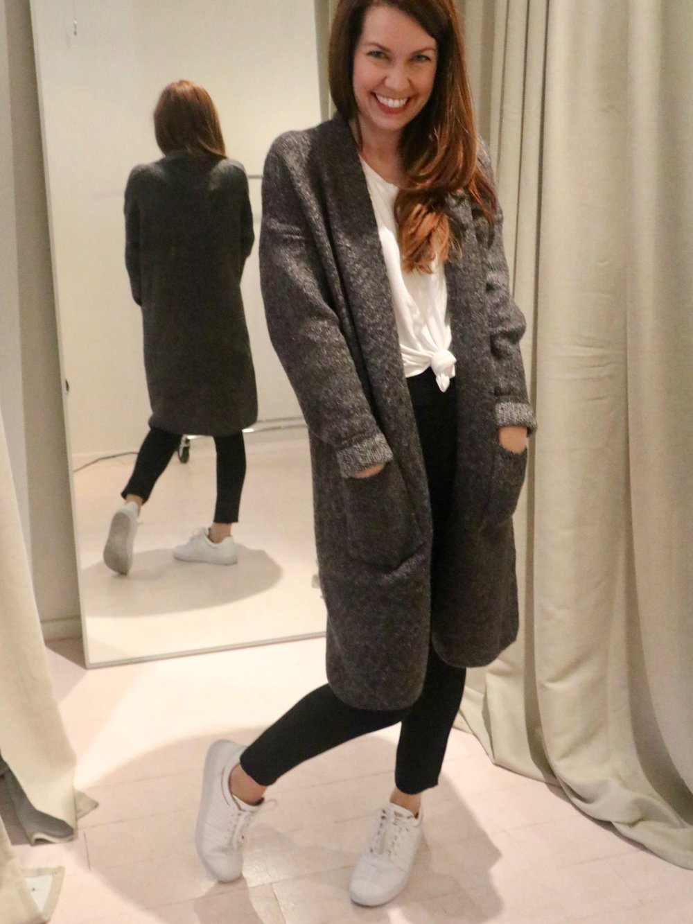 Minnie Oversized Sweater Coat $92