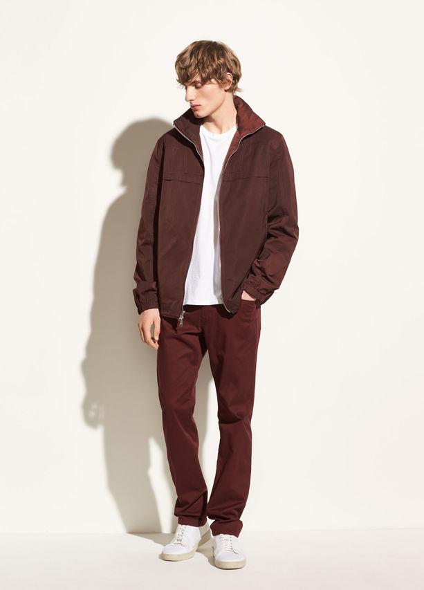 Vince. Zip Front Jacket, $395