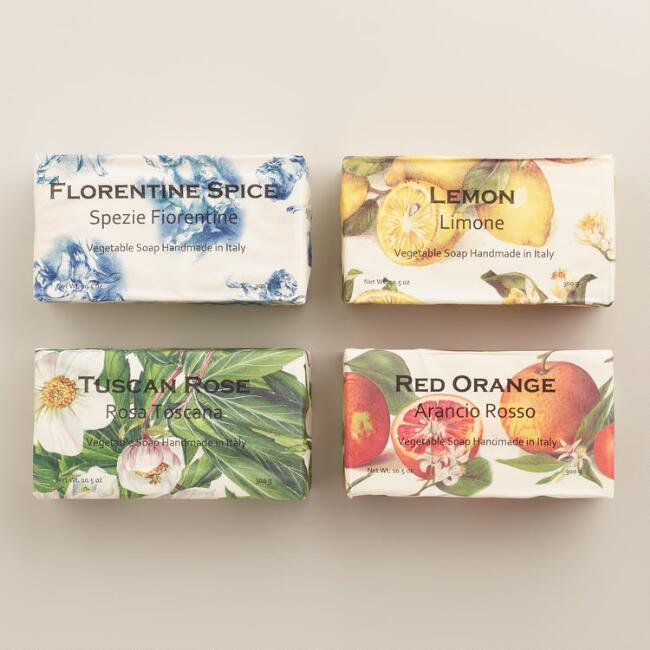 World Market Florentine soaps