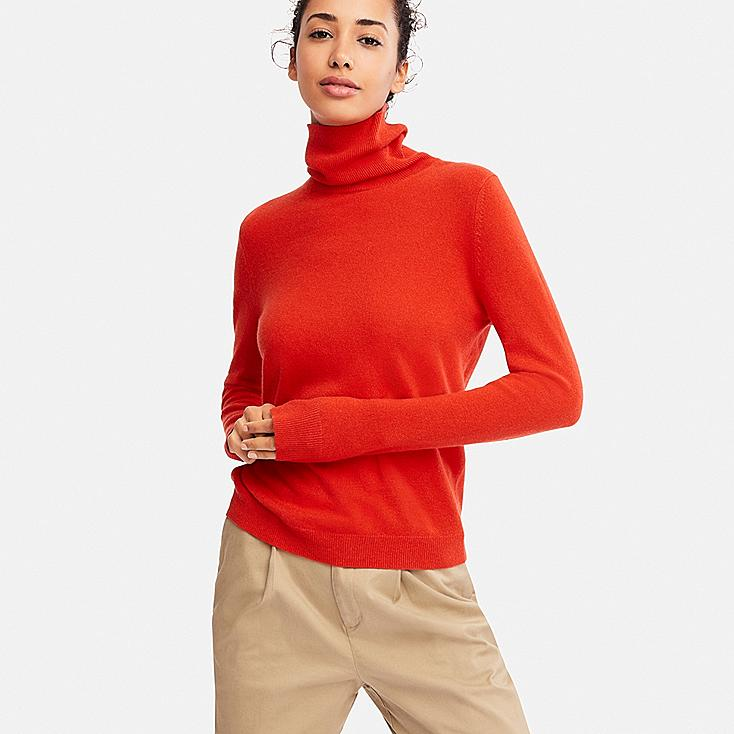 Uniqlo Cashmere Turtleneck, $69
