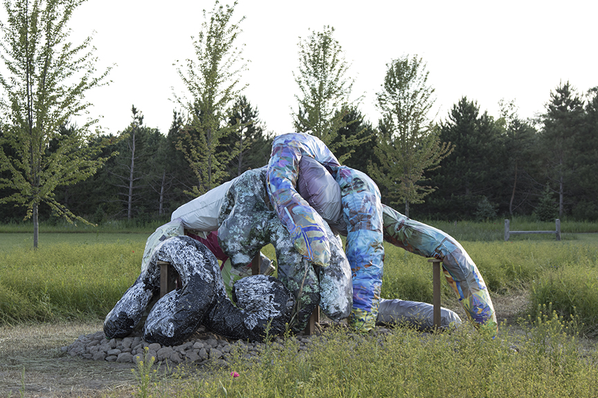 Intimate Strangers, Franconia Sculpture Park, Shafer, MN, 2016-17