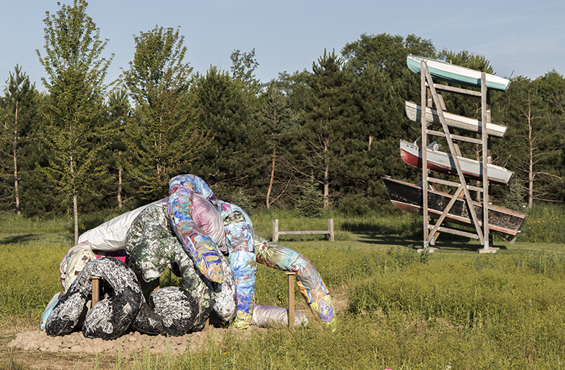 Intimate Strangers,  Franconia Sculpture Park, Shafer, MN, June 2016 to June 2016