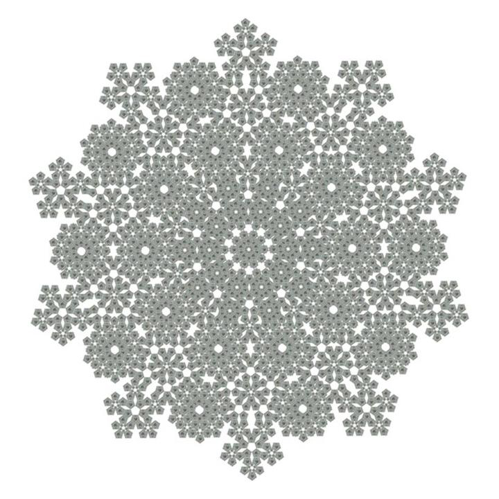 Pentagon Snowflake, 2008