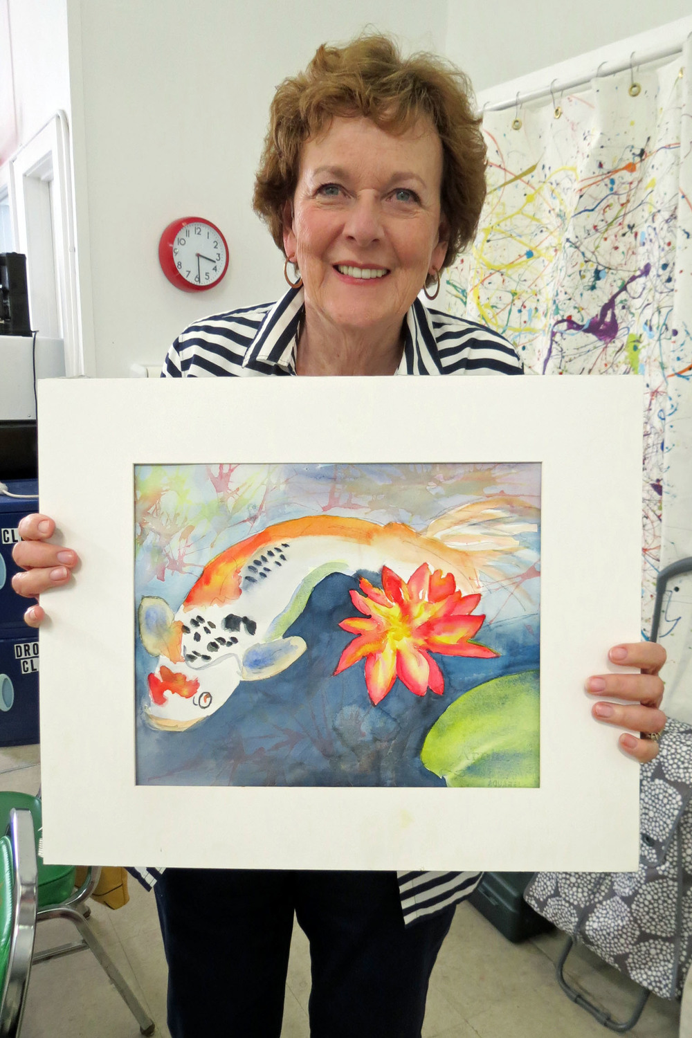 Connie with her painting.JPG