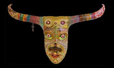PUnk Minotaur mask by DIego Marcial Rios