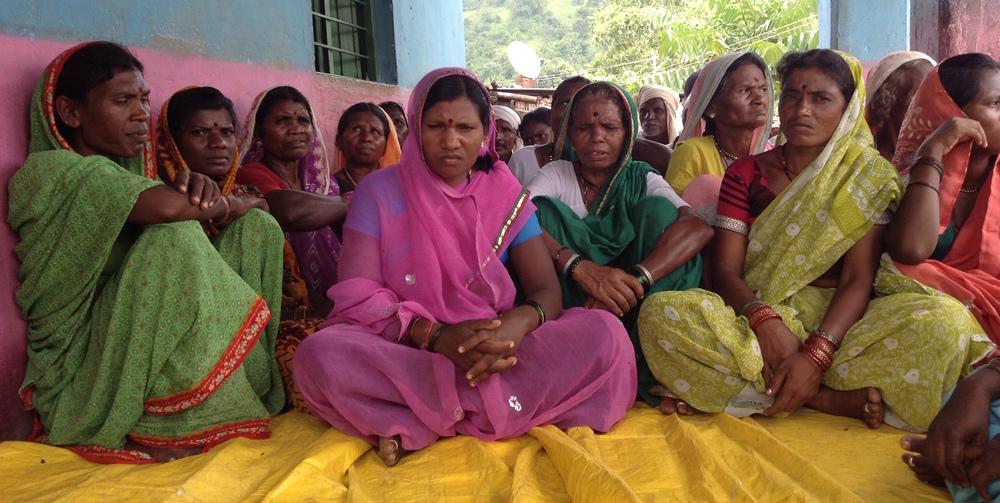 A women's self-help group in Yavatmal District, Maharashtra
