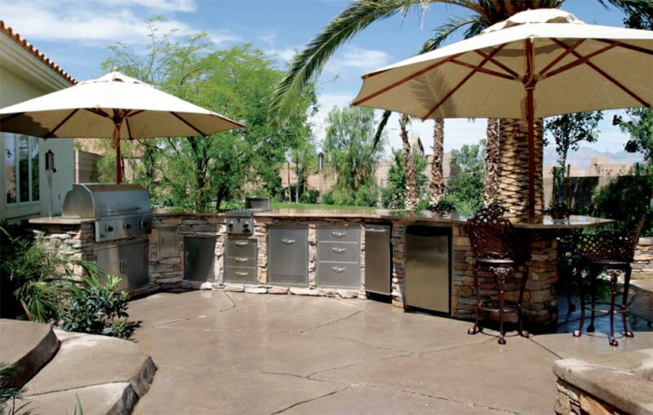 Prefab Outdoor Kitchen Island Unlimited Outdoor Kitchens
