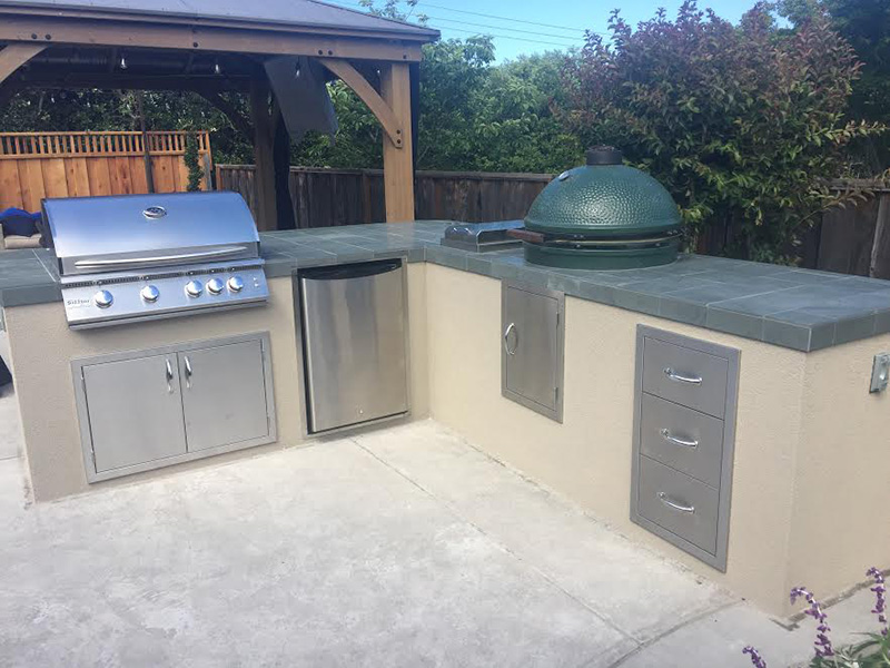 01-Ruggiero outdoor kitchen and smoker Los Gatos CA.jpg