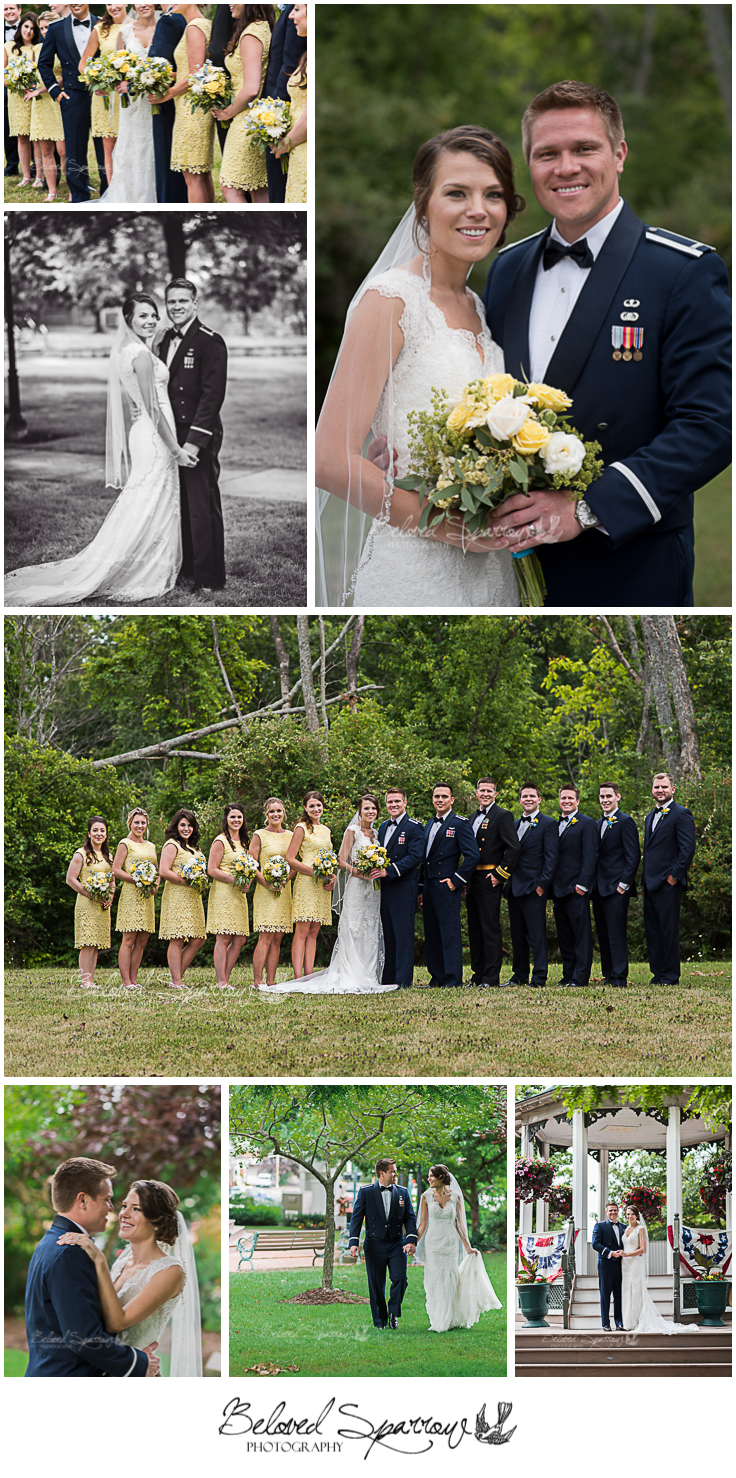 Formal wedding portrait by Atlanta photographer Jeannine Hodges