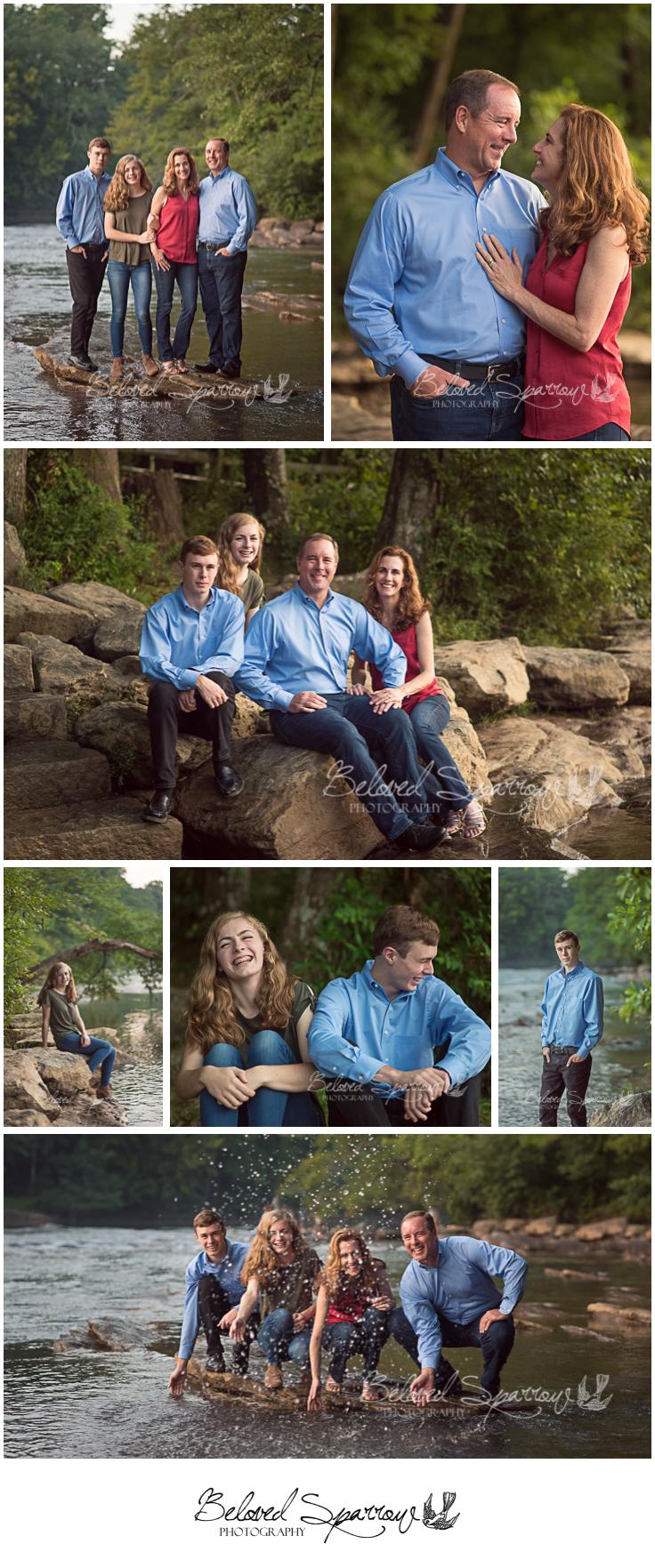Family Portraits Jones Bridge Park