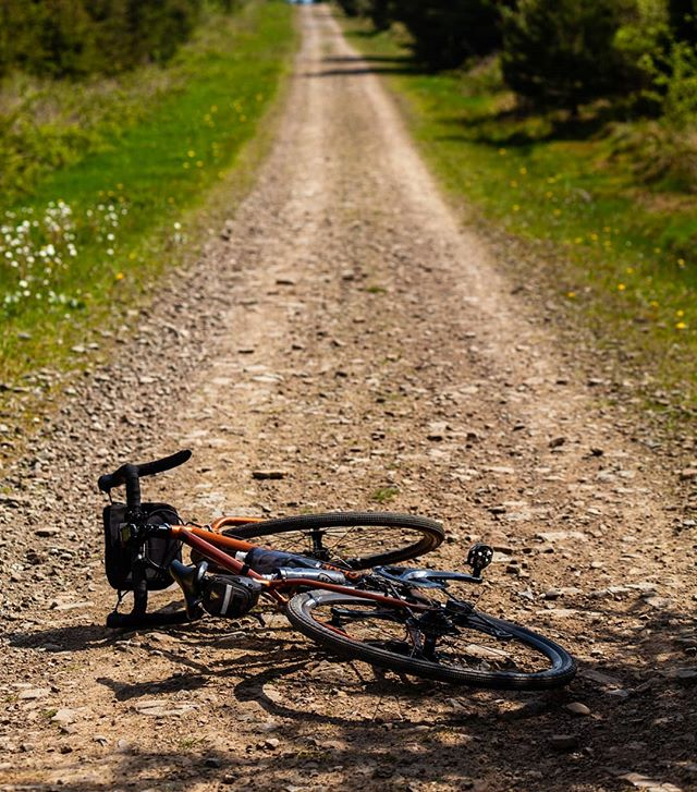 Plan for today.  Take the gravel tracks to unearth the undiscovered #foriescape