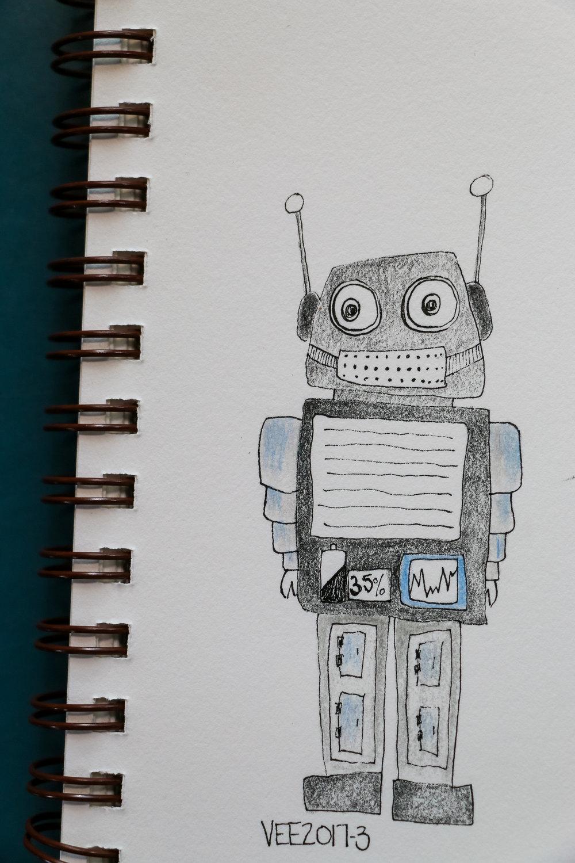 robot #3 aka VEE2017-3
