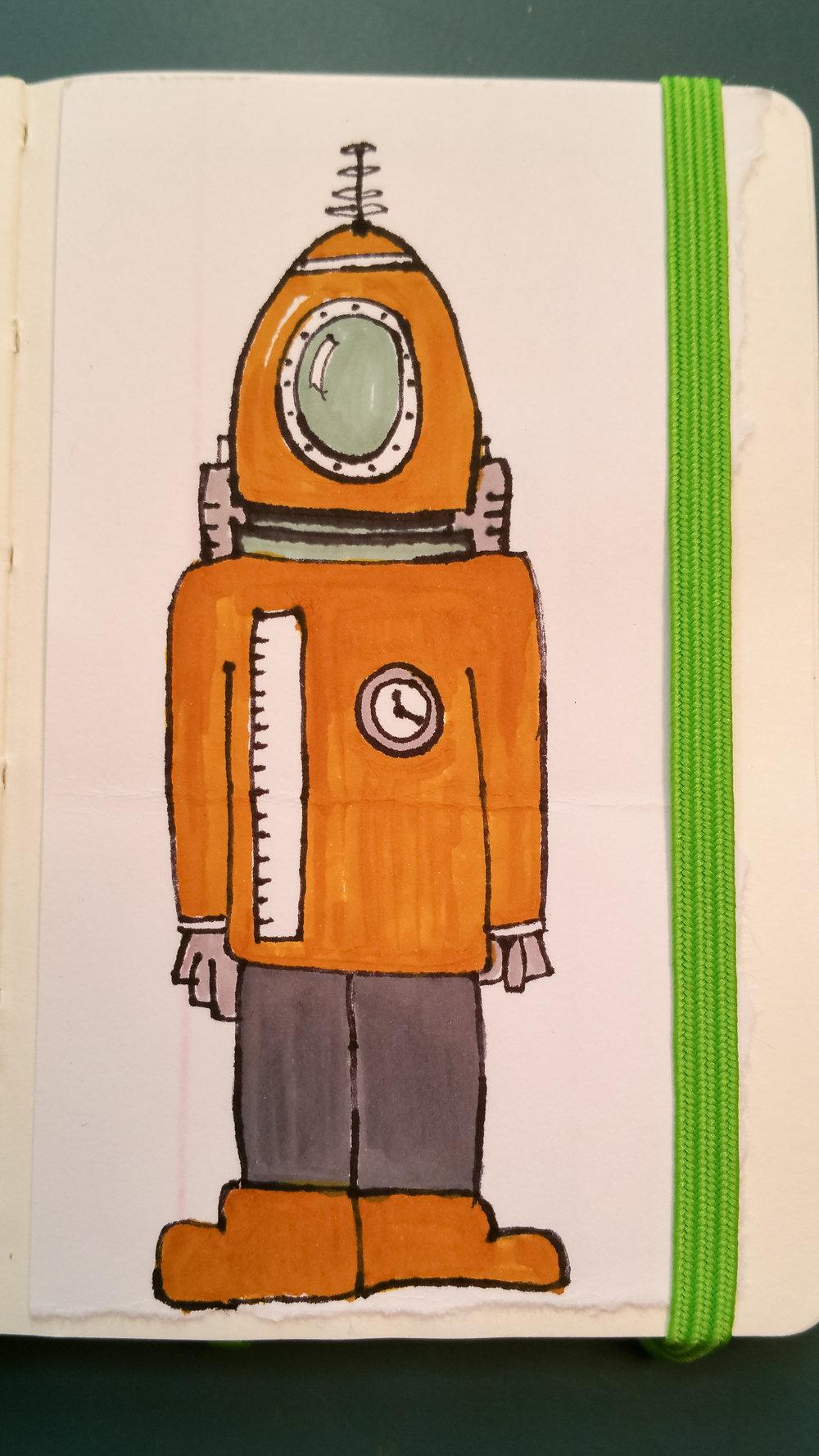 Sept 23, 2017 robot #16/365