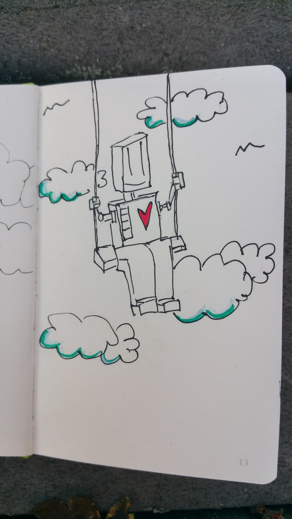 Sept 27, 2017 robot #20/365