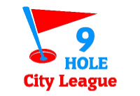 9 Hole City League Logo
