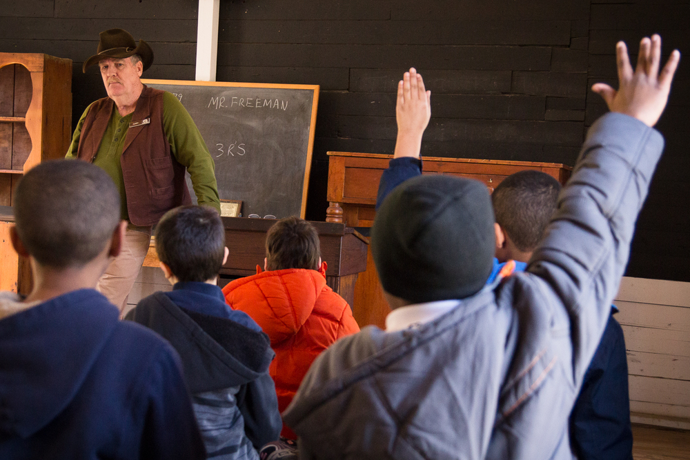 Pioneer Era Classroom