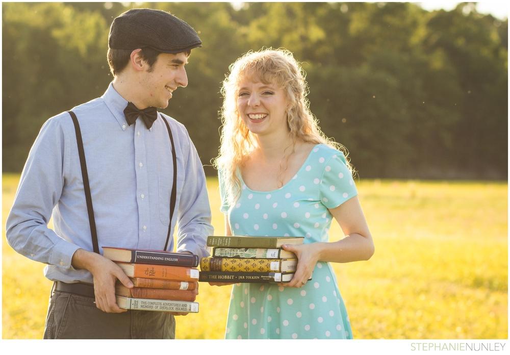 vintage-books-engagement-42