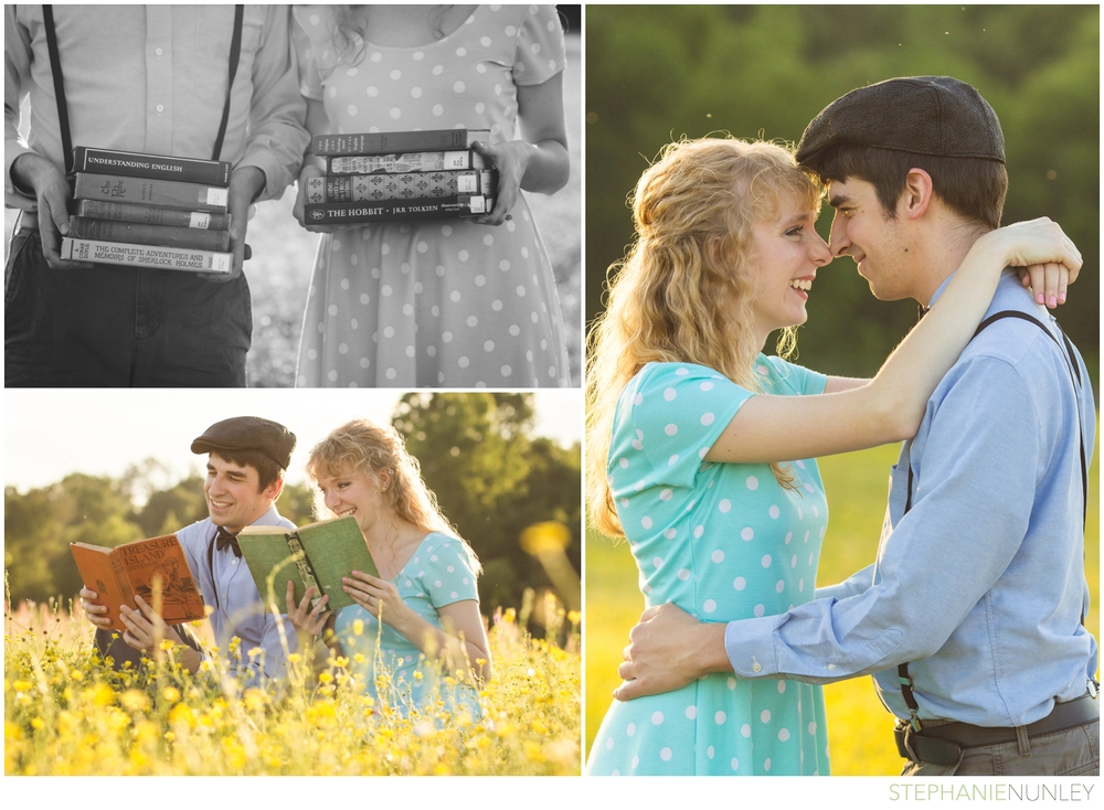 vintage-books-engagement-44