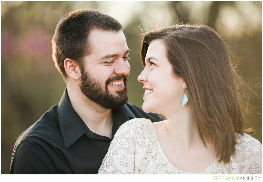 romantic film engagement session