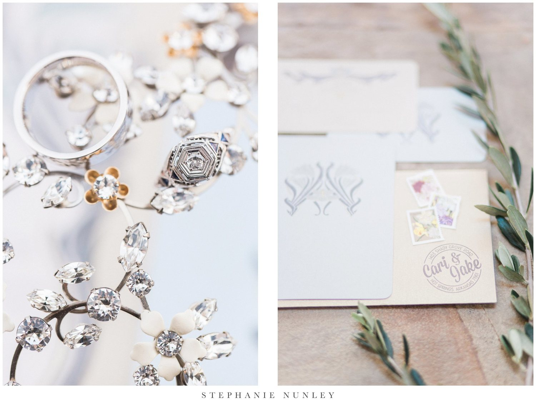 An Art Deco Inspired Wedding   Cari & Jake — Stephanie Nunley