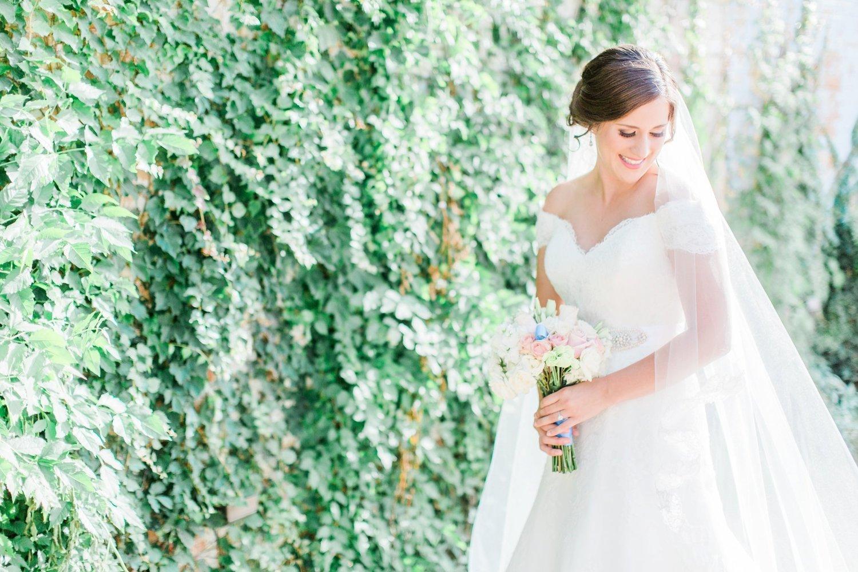 Bridal Portraits At Brik Venue In Fort Worth Texas Rebecca