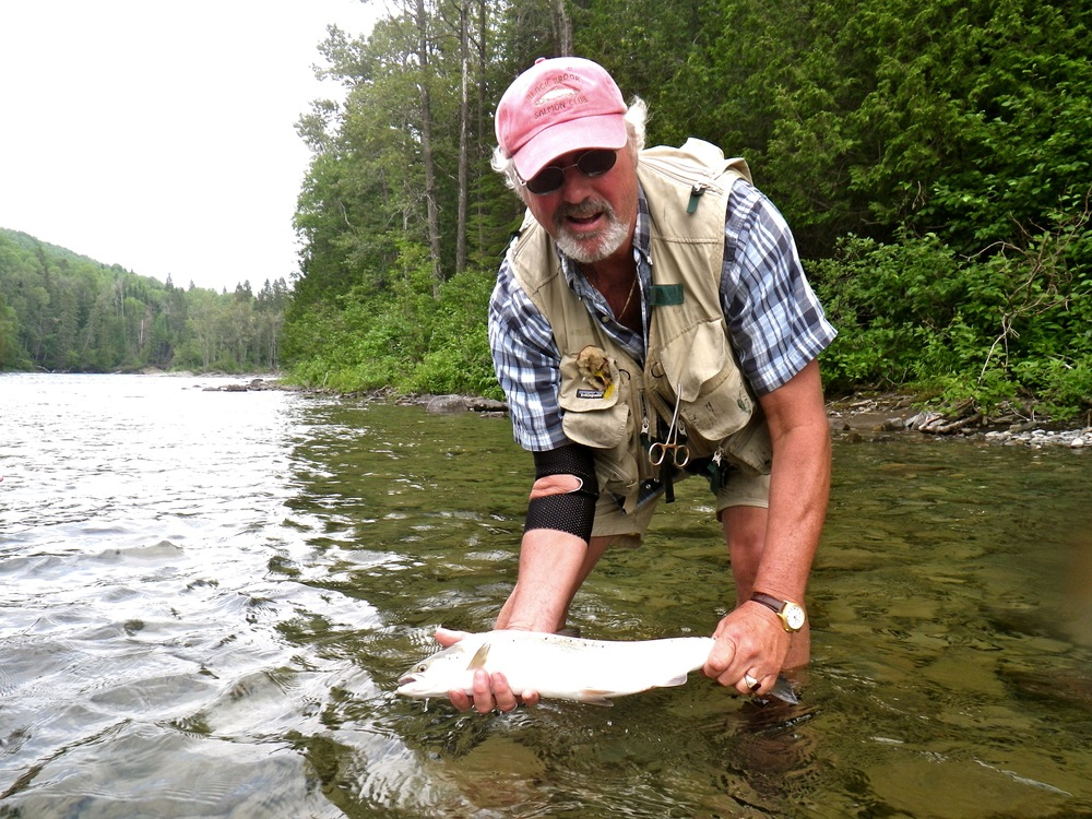 John Swan with his first Bonaventure fish of the year, congratulations John!