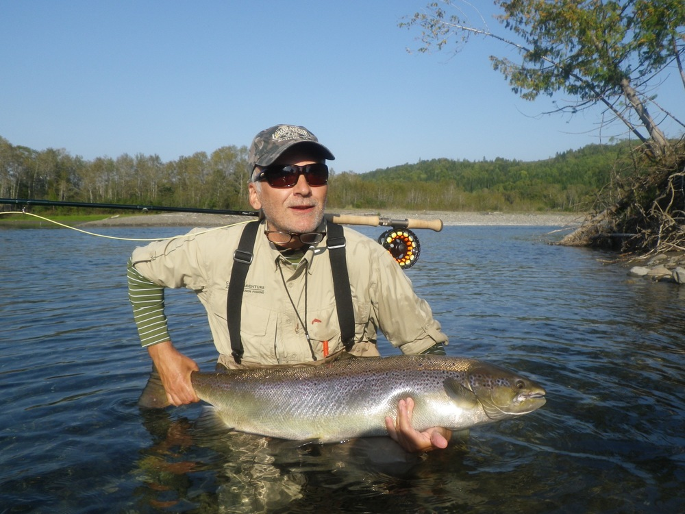 Camp Bonaventure regular Jeff Beatrice with a beauty from the Petite, Congratulations Jeff!