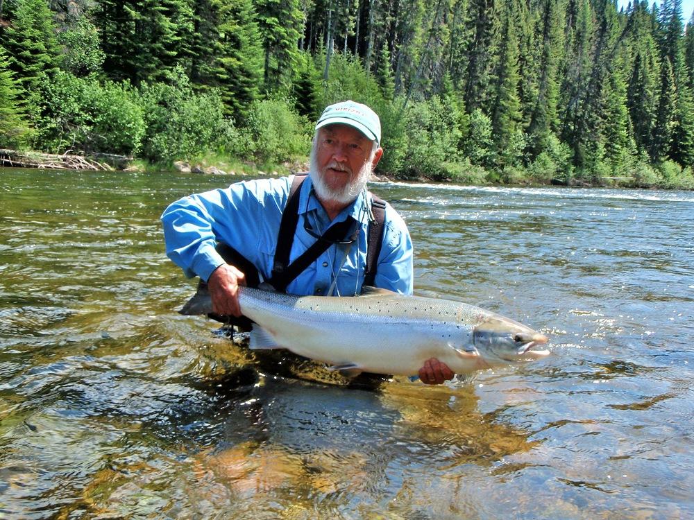 Camp bonaventure for Atlantic salmon fishing