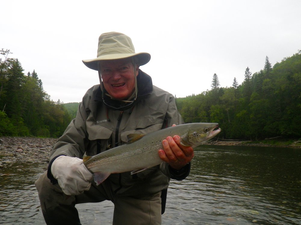 Wright Palmer has been a regular at Camp Bonaventure for many years, he sure knows how to catch them. Nice start Wright!