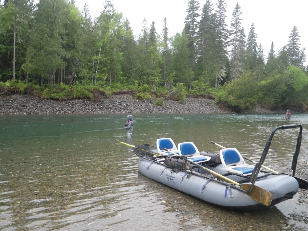 Water conditions are perfect for our float trips.