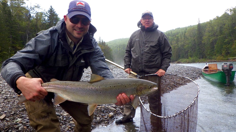 Patrick Levesque on his second trip to Camp Bonaventure this season, Nice one Pat!