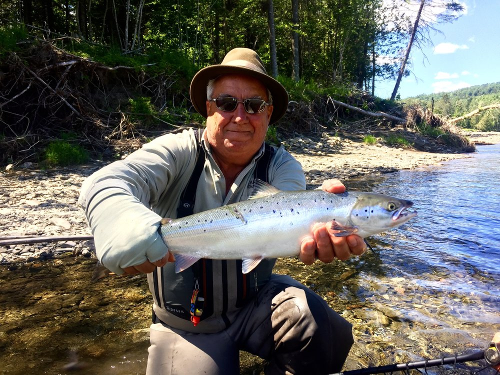 Fred Benere has been part of Camp Bonaventure since day one. He sure knows how to catch them, congratulations Fred, see you in September!