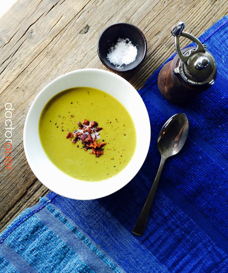Creamy Pea Soup    (Potage Saint Germain)
