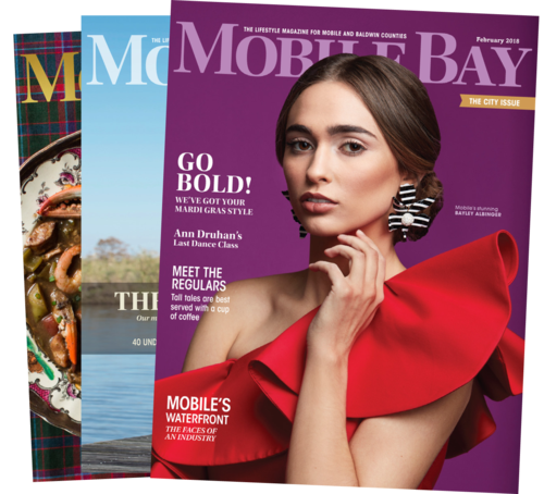 Mobile Bay Magazine Digital Content Monthly Column - March 2018 (ongoing)Photo credit: Mobile Bay Magazine