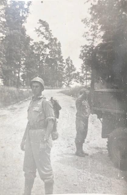 Robert Comins, WW2