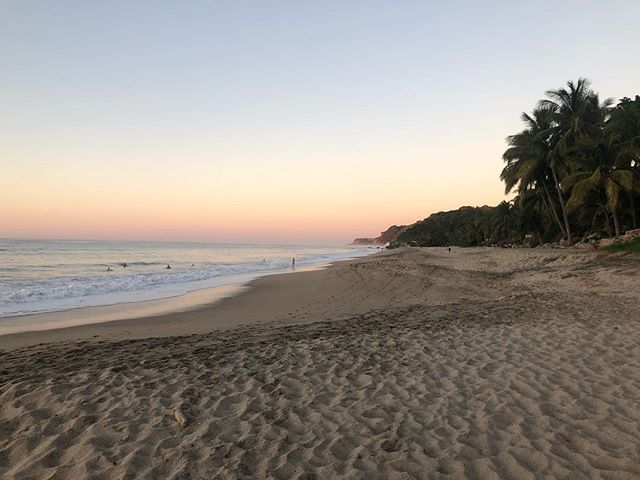 a beautiful ending to a great trip to Sayulita 🌴