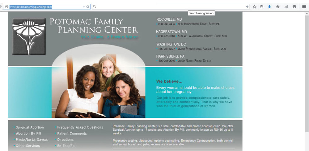 Potomac Family Planning Center