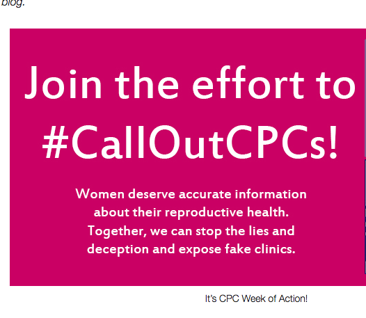 2013 #CallOutCPCs Week of Action