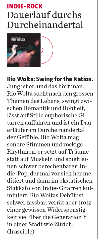 Berner Zeitung, 1.10.2015