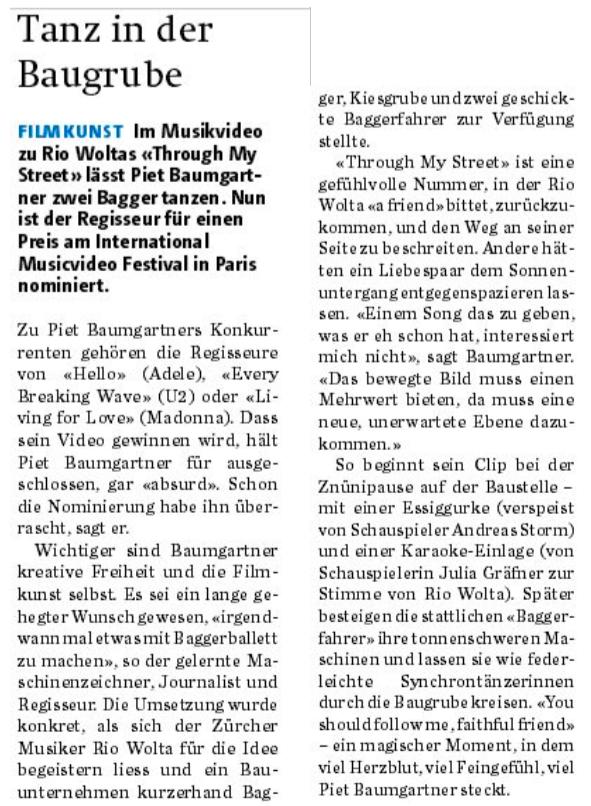 Aargauer Zeitung, 8.12.2015