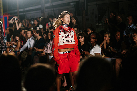 Hailey Baldwin slaying the stage at NYFW this year! Fav memory there!