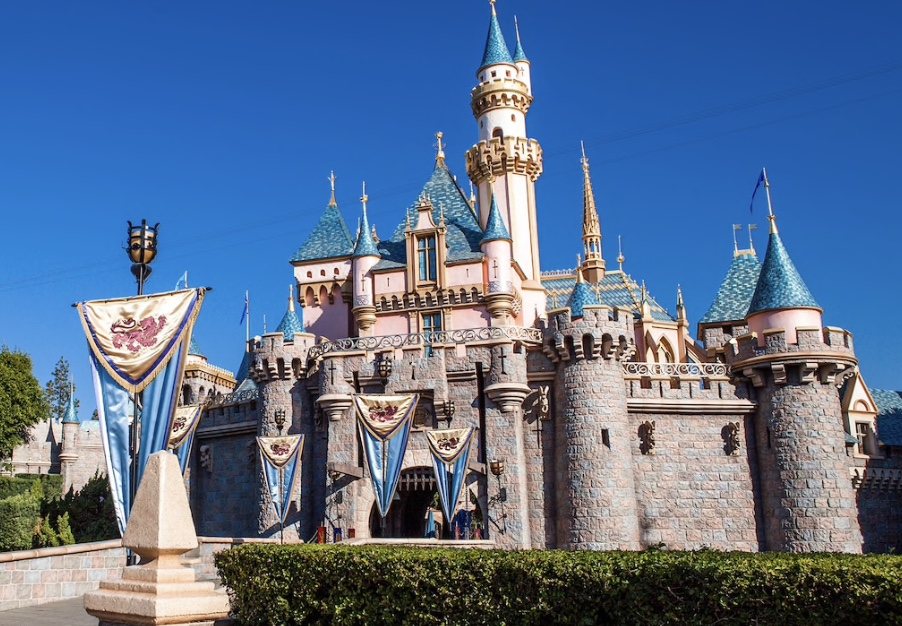 Disneyland, CA - Sleeping Beauty Castle