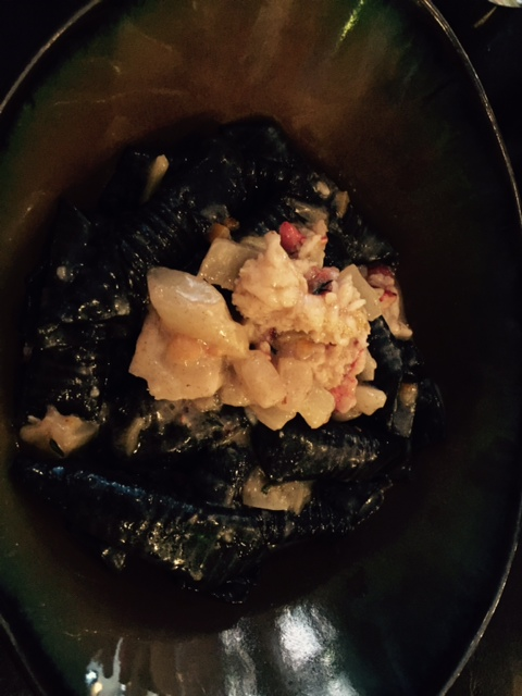 Squid Ink Garganelli