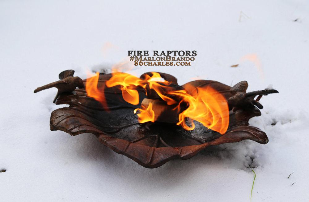 Fire Raptors #MarlonBrando