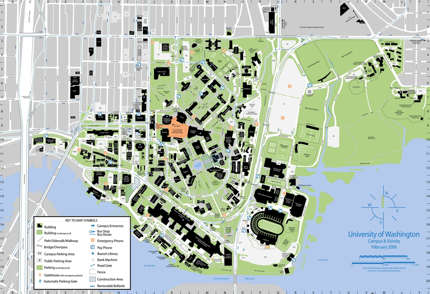 Lander Campus Map.Gt Campus Map The Bluff Atlanta Map Map Worksheets