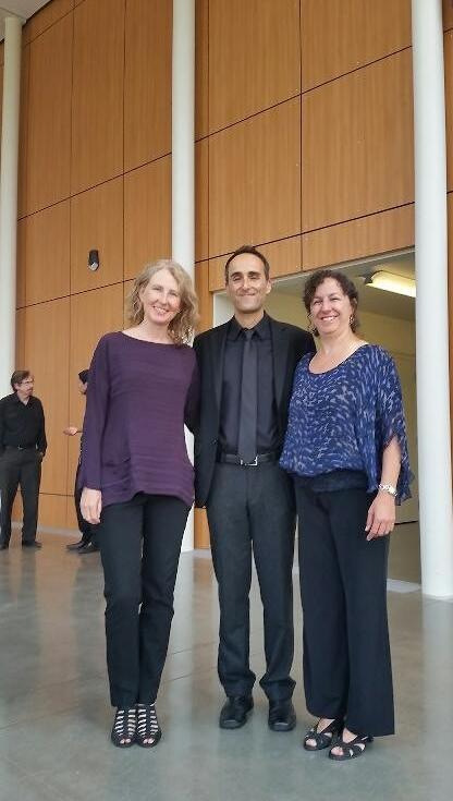Mazdak Khamda and Gianna Abondolo