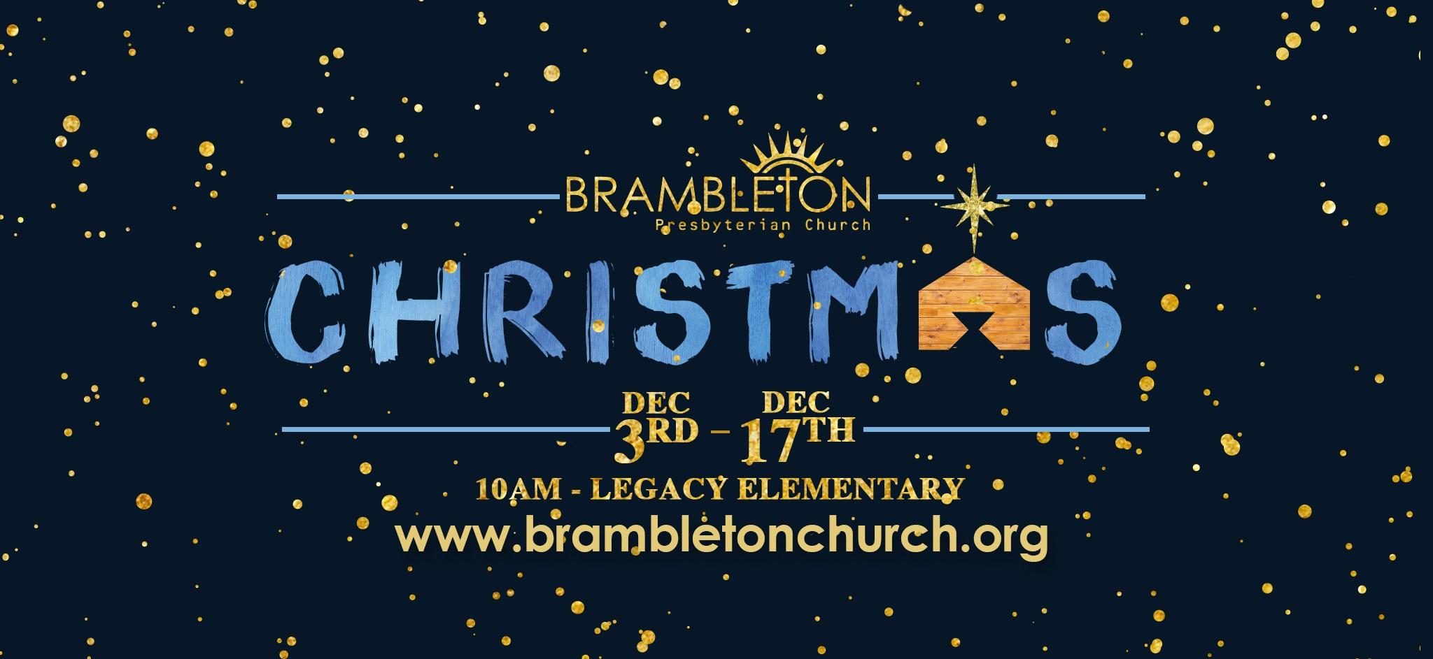 Christmas Sermon Series — Brambleton Presbyterian Church
