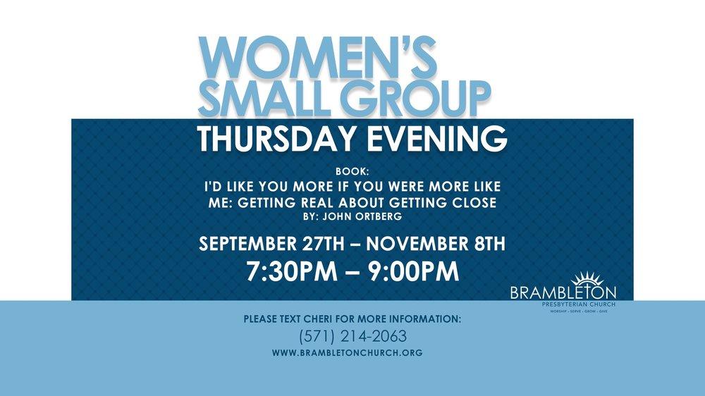 Womens Thursday Evening Samall Group.jpg